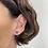 Thumbnail: Pear Shape Green Tourmaline | single stud