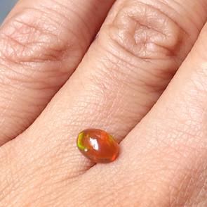N.8 | Oval Shape Fire Opal