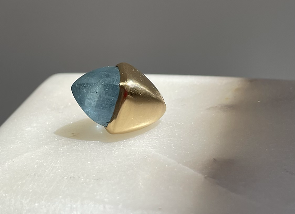 Aquamarine Amulet Pendant