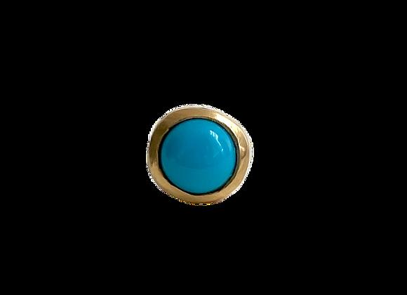 Sleeping Beauty Turquoise Studs | single or pair