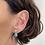Thumbnail: Sleeping Beauty Turquoise & Diamond Earrings