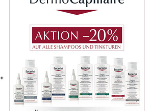 20 % Rabatt auf alle Eucerin DermoCapillaire ...