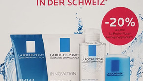 20% auf alle La Roche-Posay Gesichtsreinigungsprodukte