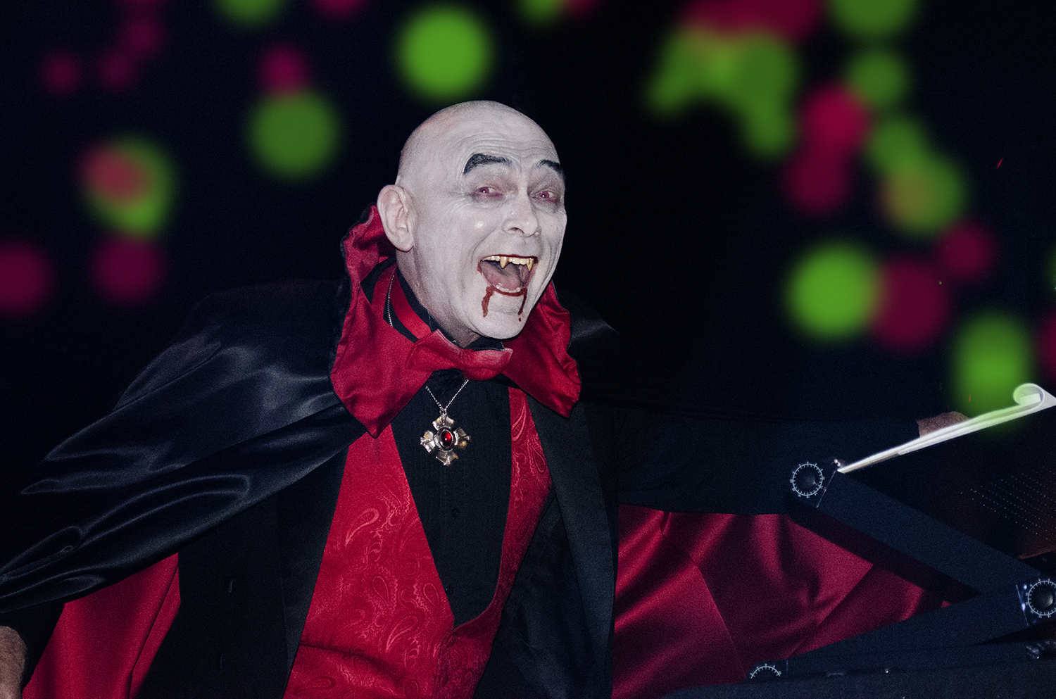 Terry as Dracula