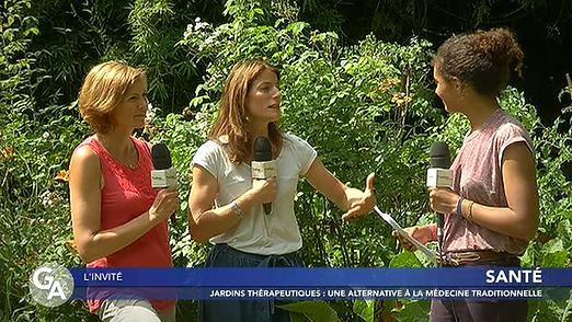 Interview de Laure Bentze et Stéphanie Personne au sujet des jardins thérapeutiques