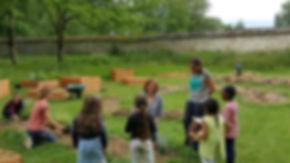 Atelier pédagogique au Jardin des Possibles