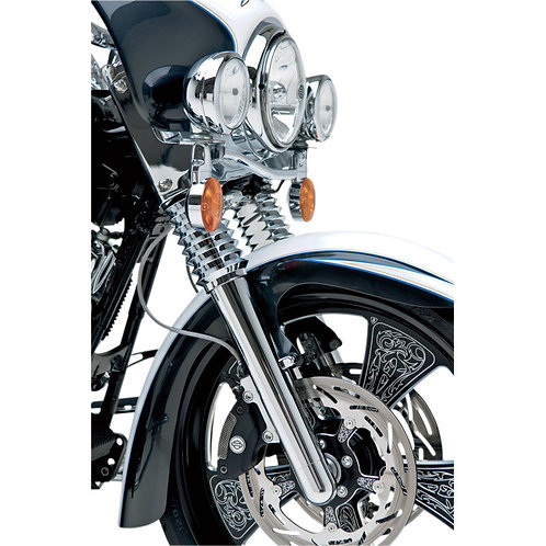 0403-0029 Chrome Smooth Hot Legs Fork Leg Set
