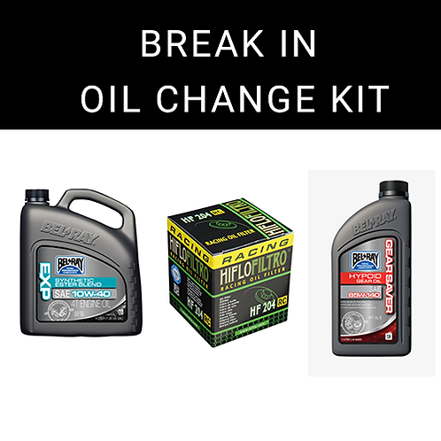 KAW-BOCK Break In Oil Change Kit