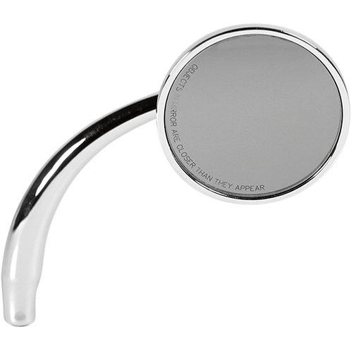 0640-0773 Chrome Round Mirror