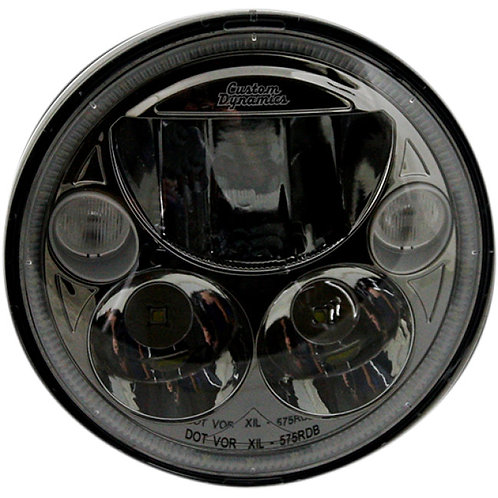 2001-1258 Black TruBeam LED Headlight