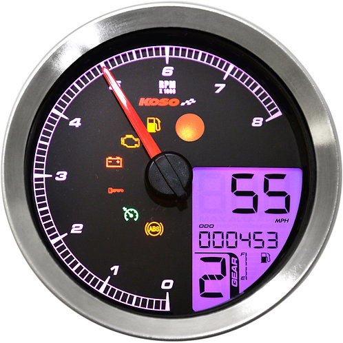 2211-0171 Silver HD-04 Speedometer/Tachometer