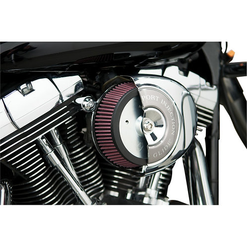 1010-0353 ArlenNess Chrome Big Sucker Stage 1 Standard Air Filter Kit