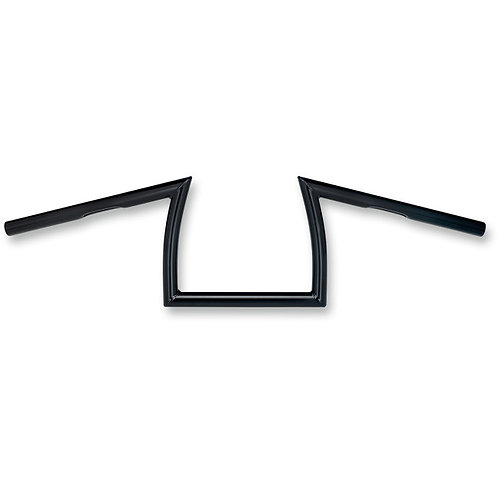 "0601-3279 1"" Black Keystone XL Dimpled Handlebar"