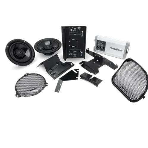 TMS69BL14 Power Harley Davidson Rear Audio Kit (2014+)