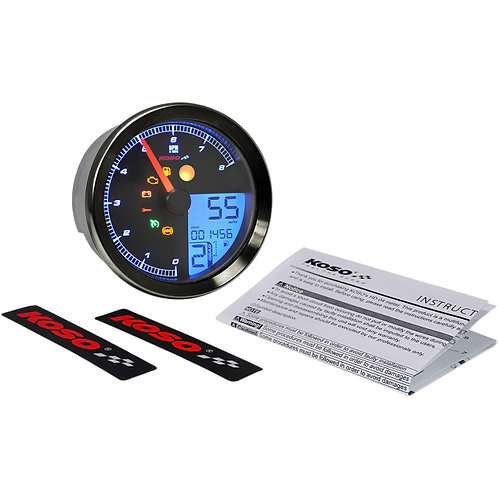 2211-0172 Black HD-04 Speedometer/ Tachometer