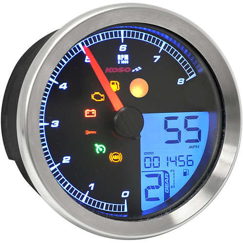 2211-0169 Silver HD-04 Speedometer/Tachometer