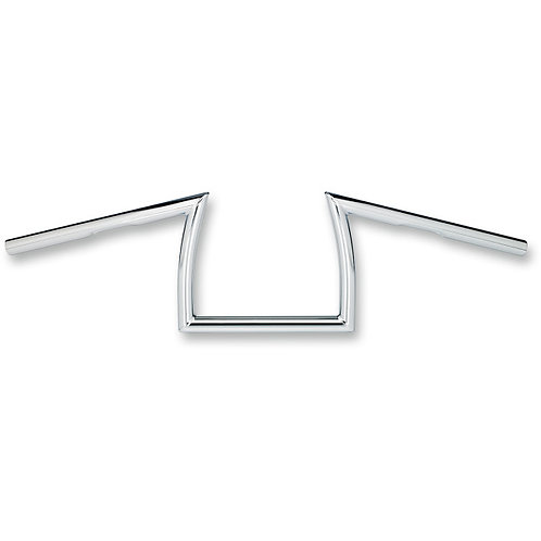 "0601-3180 1"" Chrome Keystone XL Dimpled Handlebar"