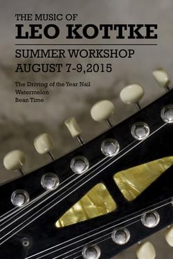 Music of Leo Kottke Workshop 2015
