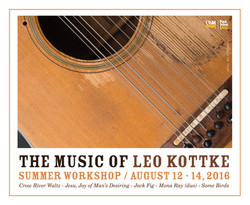 Music of Leo Kottke Workshop 2016