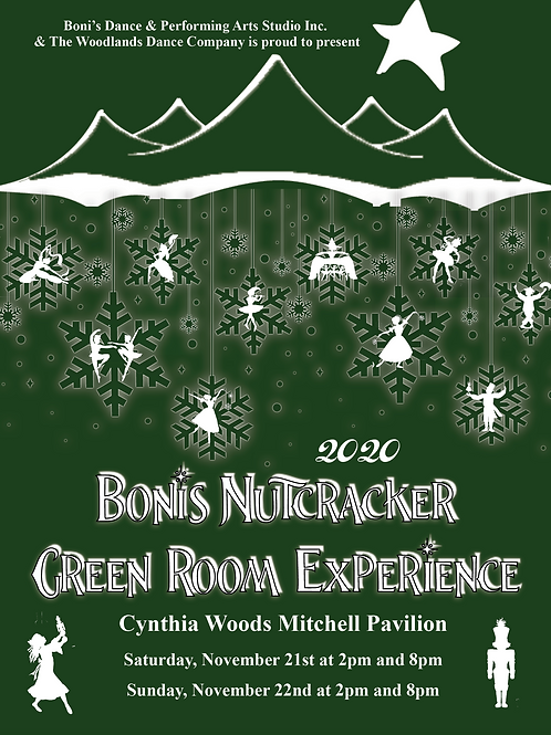 Boni's Nutcracker Green Room VIP Experience
