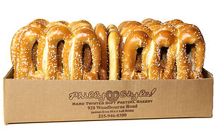 Philly Style Soft Pretzel Bakery boxed pretzels