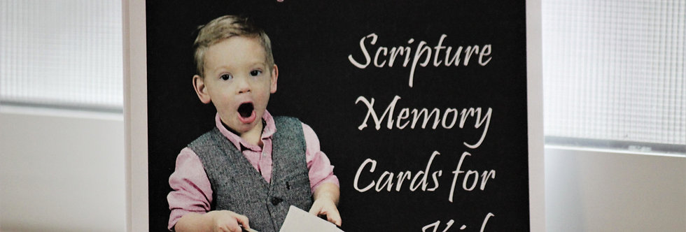 Kids - Scripture Memory Cards