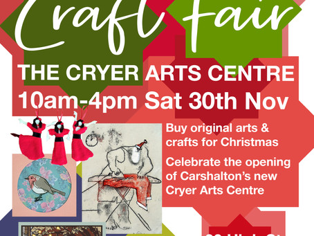 Christmas craft at the Cryer