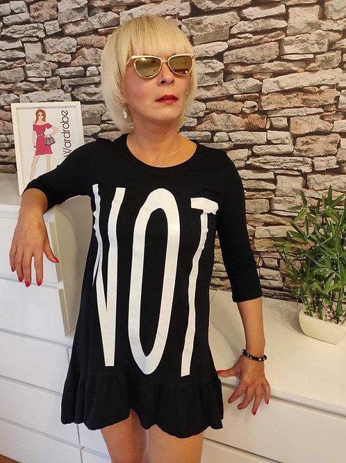 NOT Short Dress Black