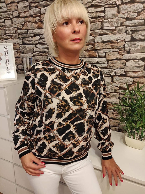 Chain Patterned Top
