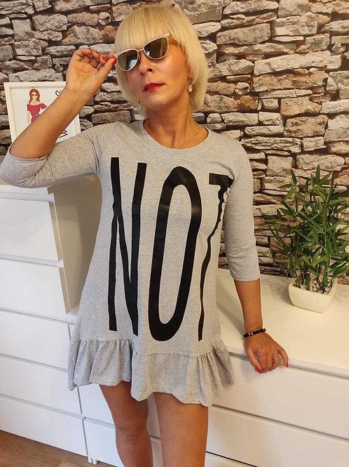 NOT Short Dress Grey