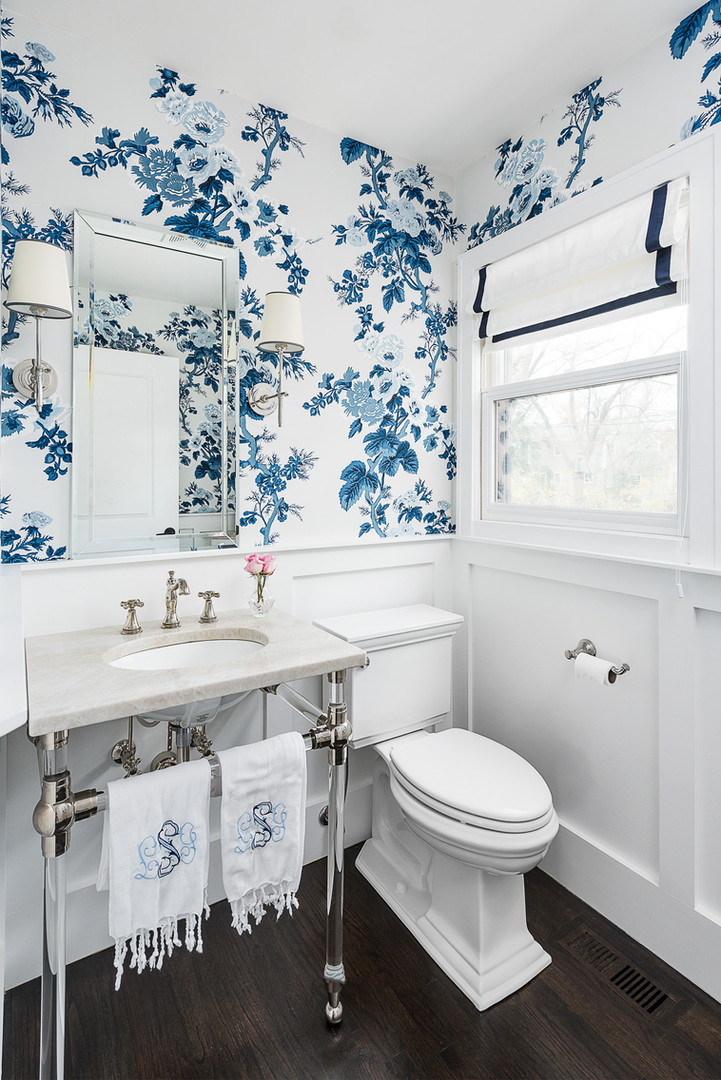 Barley Avenue powder room
