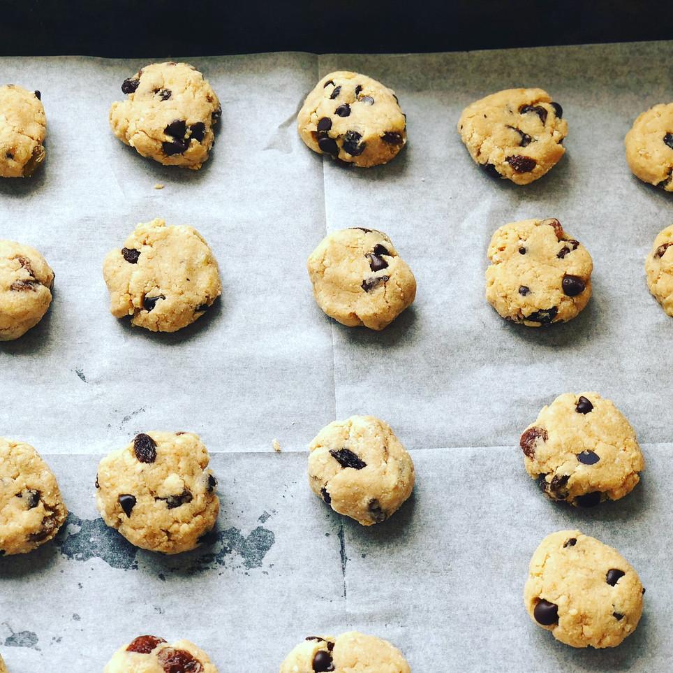 עוגיות קוקוס רכות בלי גלוטן