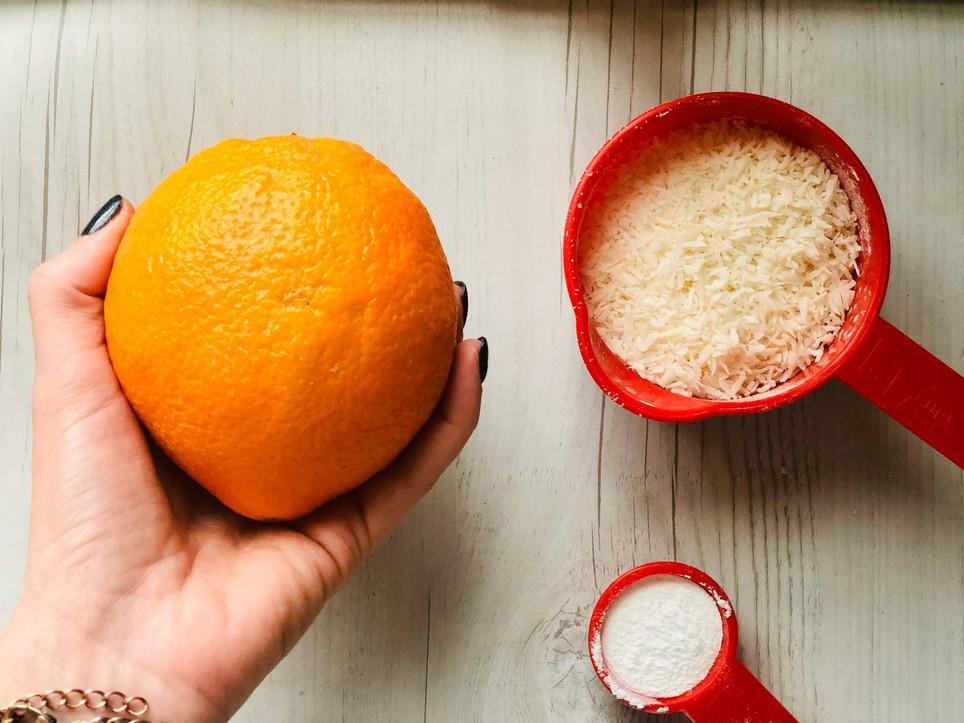 עוגת קוקוס תפוז