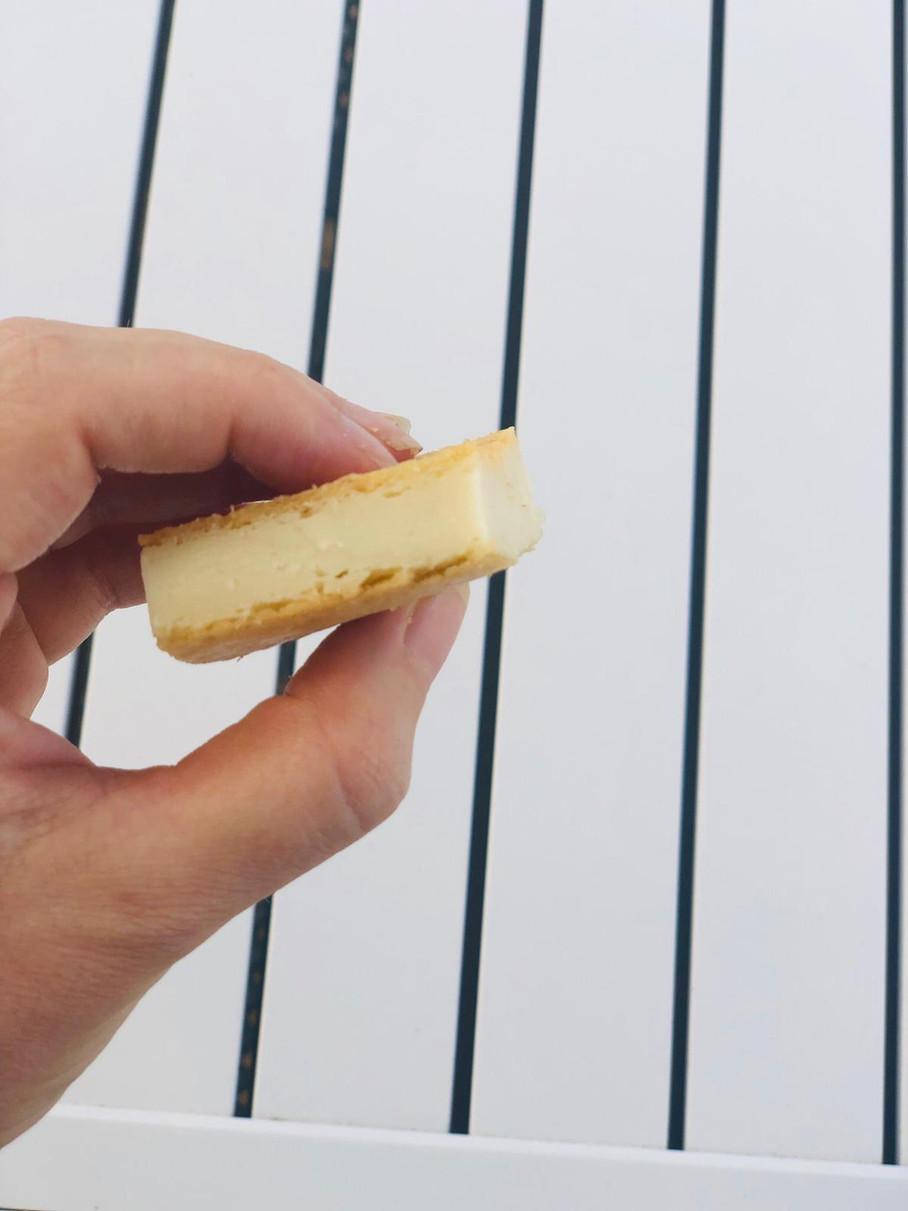עוגת גבינה טבעונית אפויה בלי גלוטן