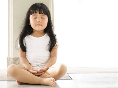 Kids yoga - the ultimate interactive video game!