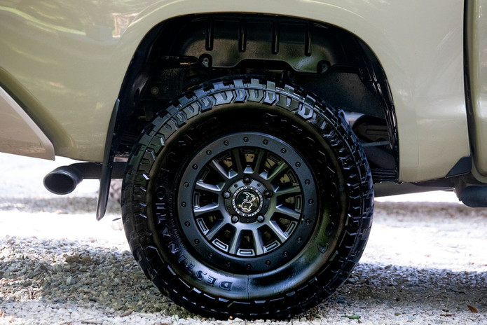 Tire and Rim Detail