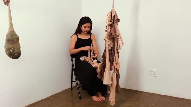Dasol Hong_Human Flow, Video loop 29 min