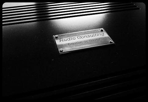Audio Consulting Logo Badge