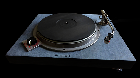 Schick Reference Turntable Plinth - Gallery