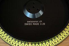 Swissonor non-magnetic amin platter upgrade for Thorens TD 124