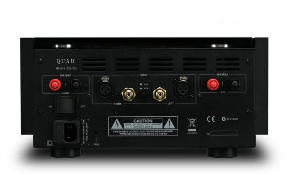 QUAD ARTERA STEREO Power Amplifier Rear View