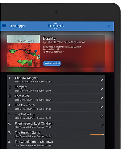 Innuos Music Server Functionality