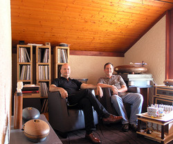 Serge with Giuseppe