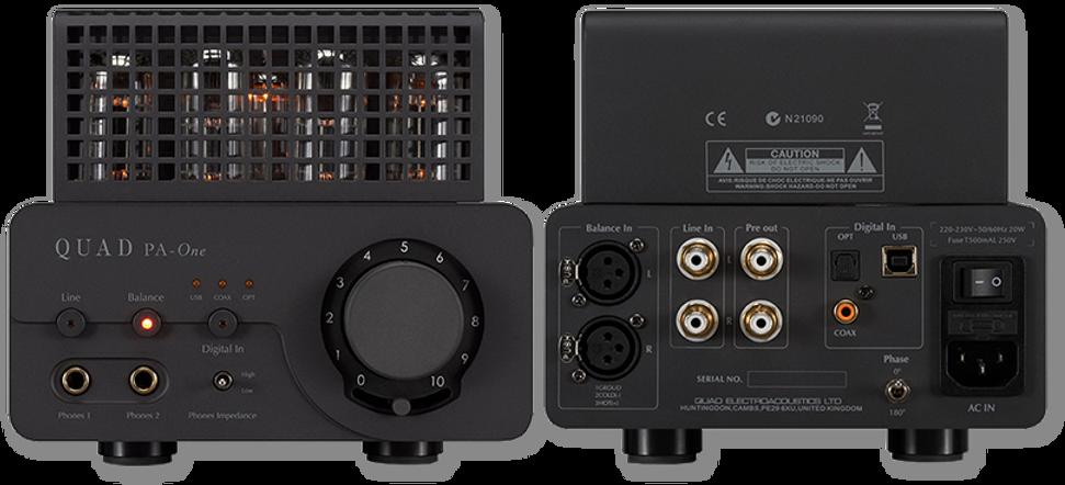 QAUD PA-ONE Headphone Amplifier