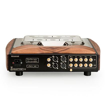 Mastersound Spettro Tube preamplifier - Rear View