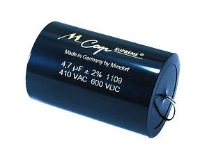 Mundorf M Cap Supreme Capacitor