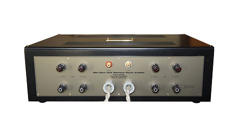 MIPA Reference Amplifier - Rear View