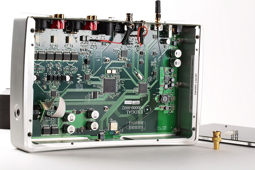 EXOGAL ION POWERDAC - inside view