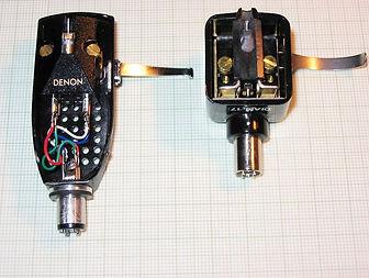 Schick Headshell size options 1 - Schick Tonearms