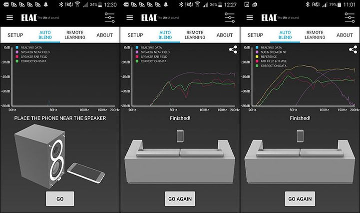 Elac Element EA101EQ-G App View 2